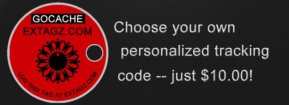 Choose your own personalized tracking code!